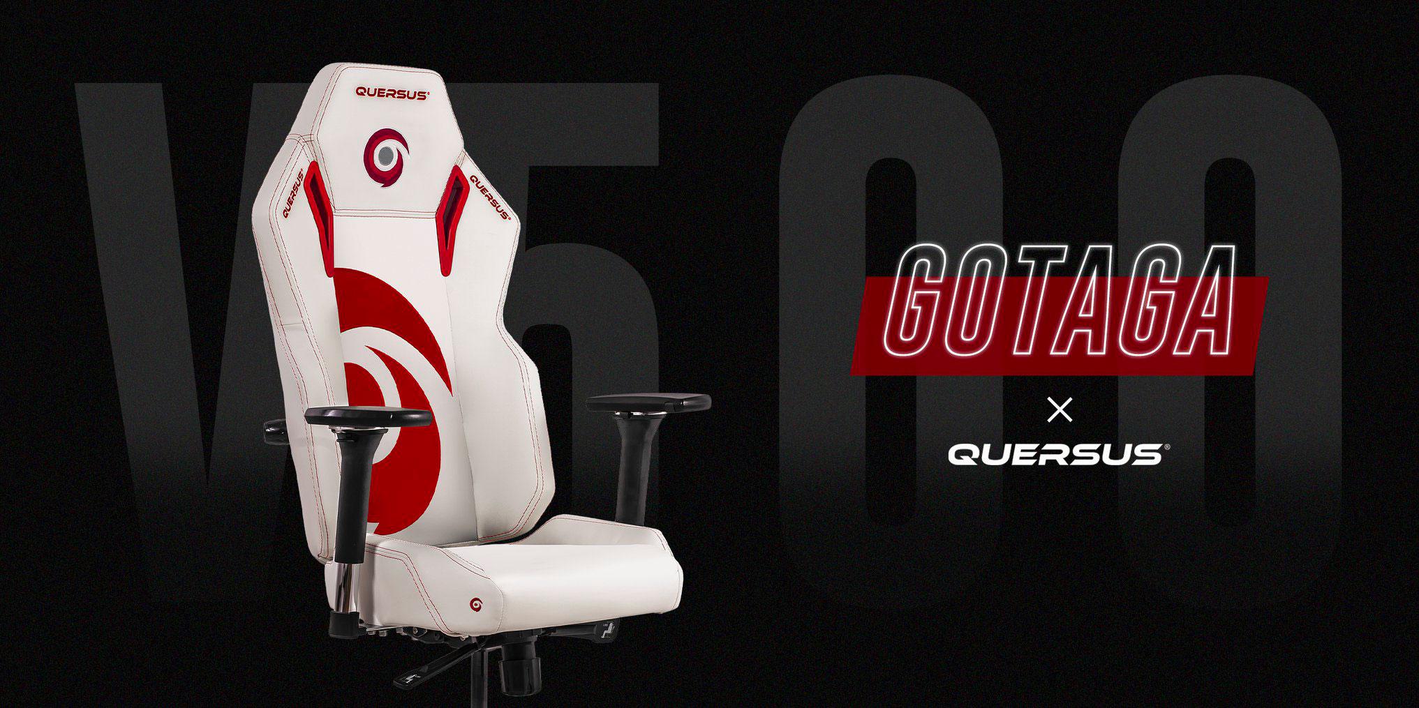 Chaise gamer Quersus (Gotaga) : test et avis